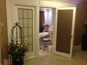 Our Halifax location treatment room
